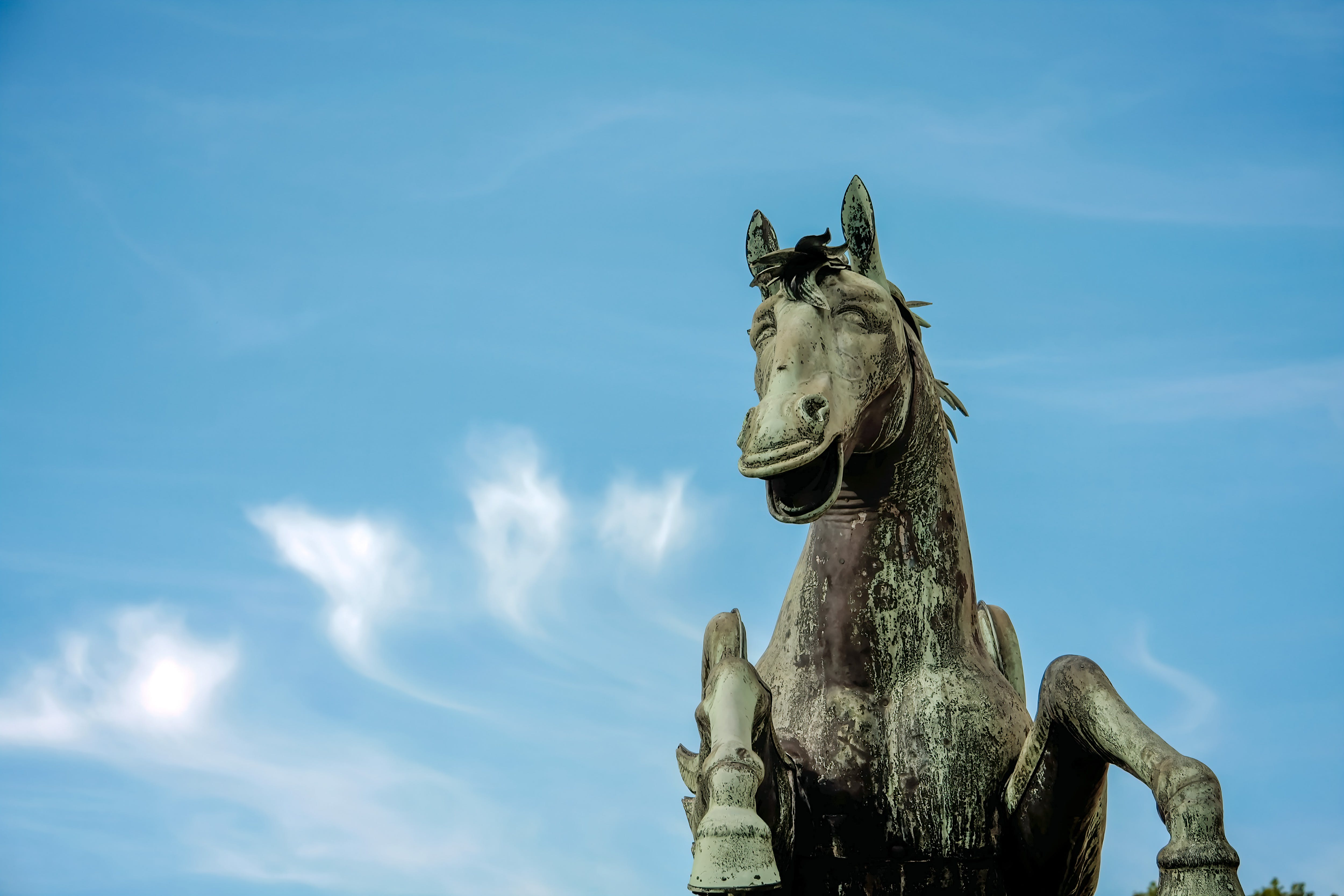 Free stock photo of sky, statue, austria, monument
