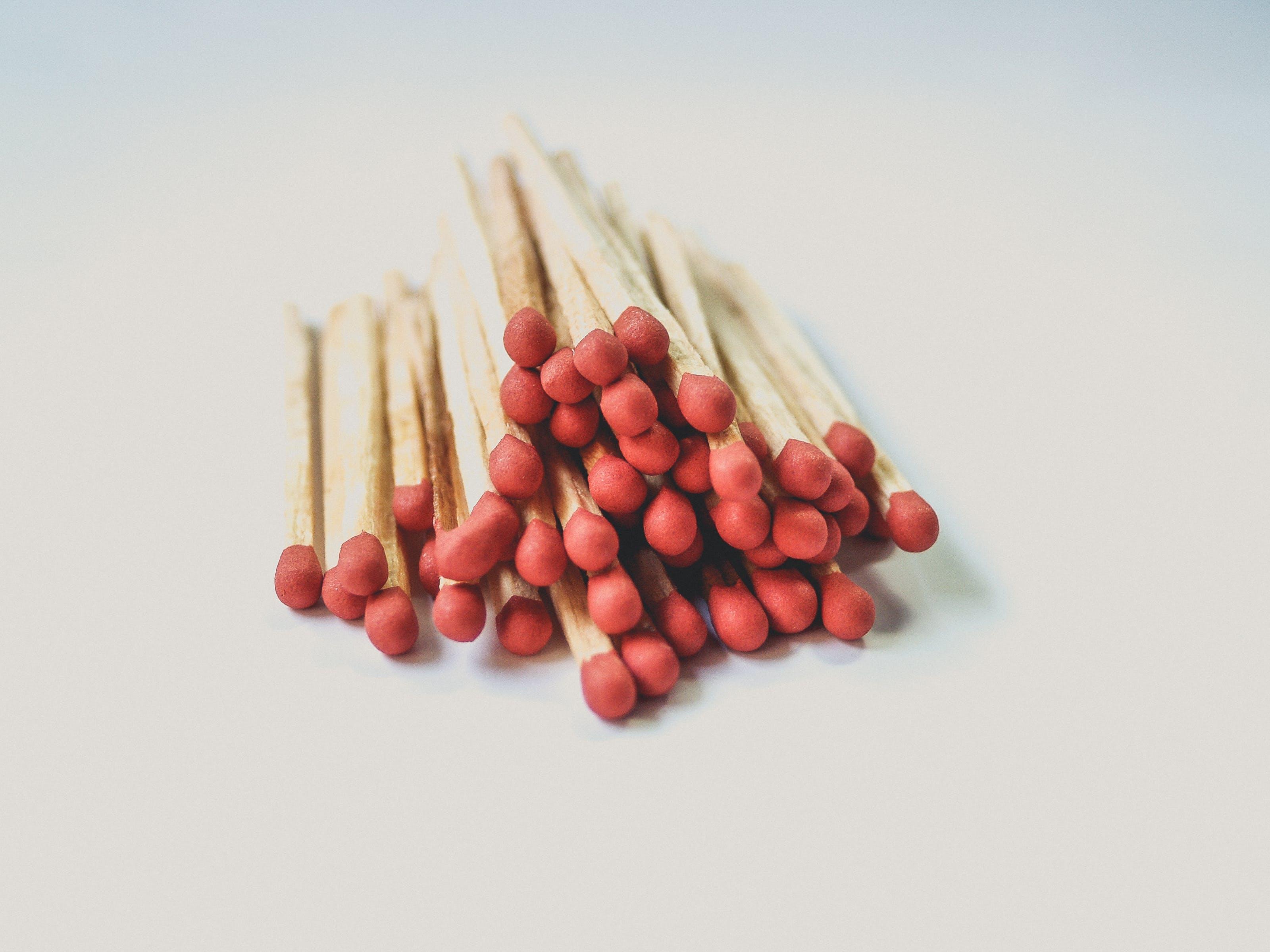 Close-Up Photography of Matchsticks
