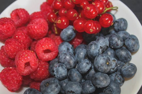 Foto d'estoc gratuïta de baies, Blackberries, bol de fruita, estiu