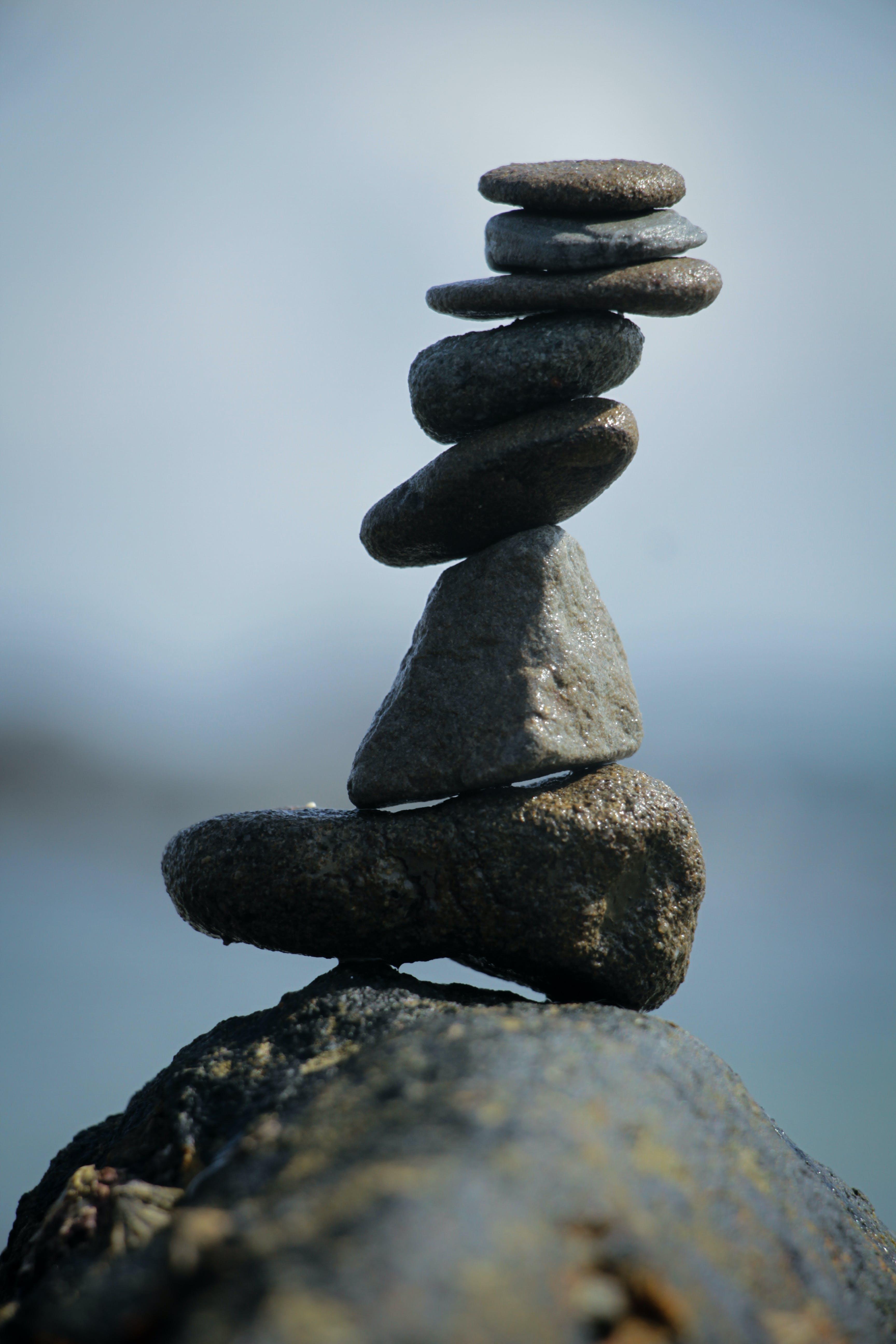 Free stock photo of Stone Stack