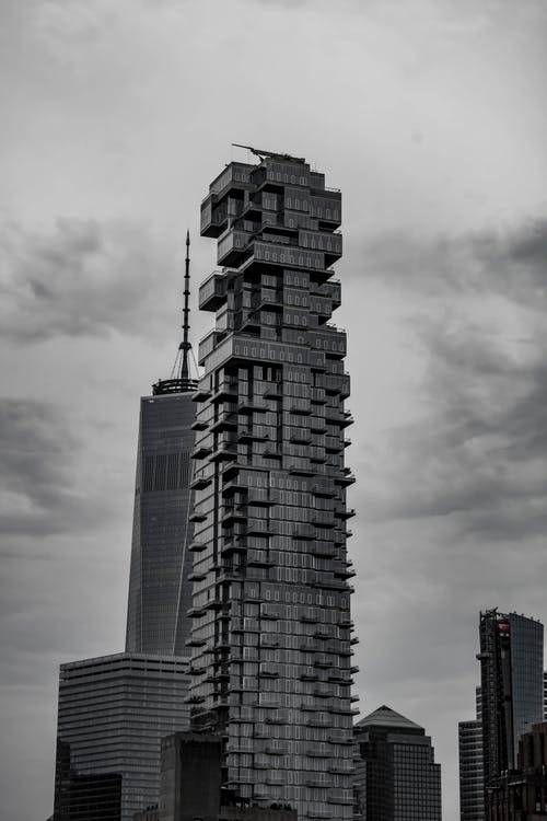 Foto profissional grátis de arranha-céus, construção