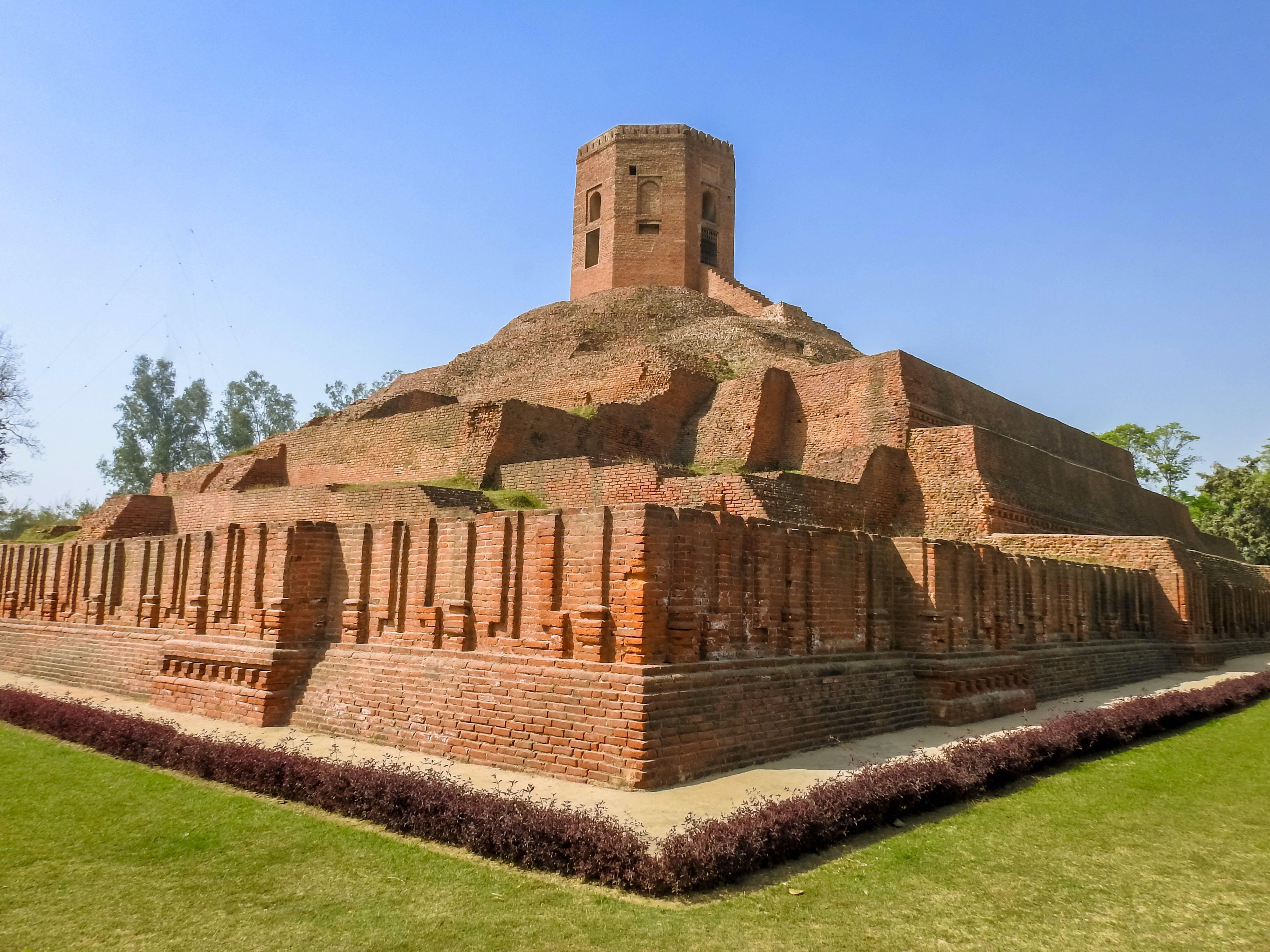 Gratis lagerfoto af choumukhi stupa