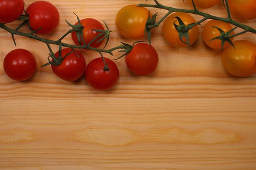 Free stock photo of cherry, chopping board, delicious, eat