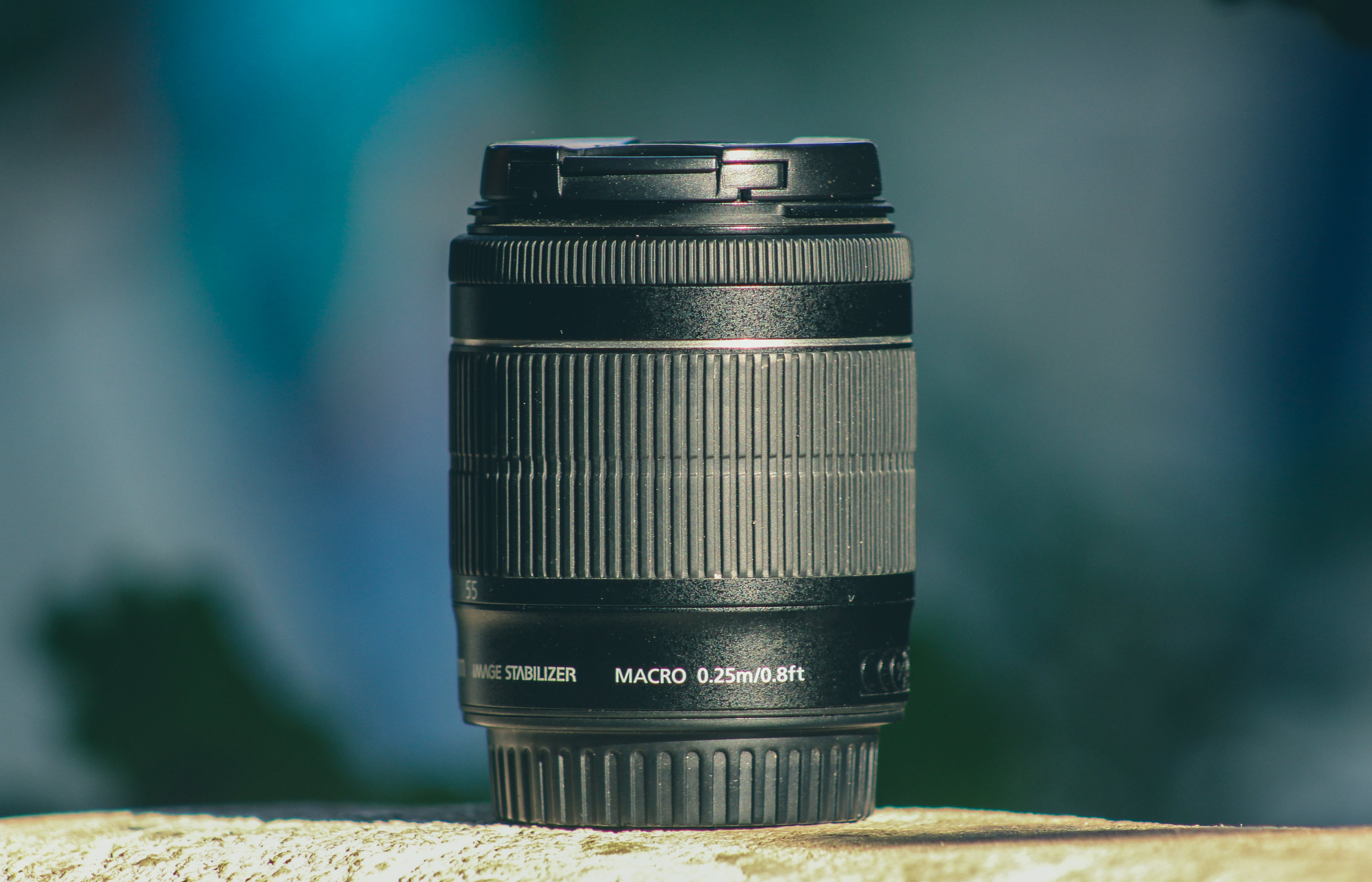 Black Dslr Camera Lens in Shallow Focus Photography
