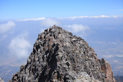 Foto stok gratis biru, gunung, pendakian gunung