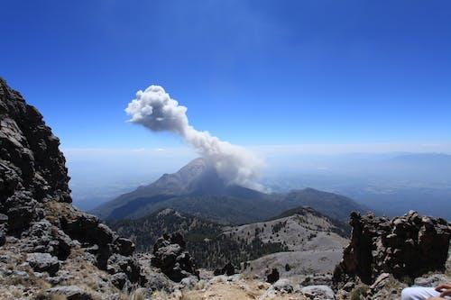 Gratis arkivbilde med fjell, utbrudd, vulkanutbrudd