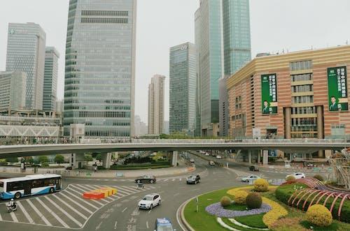 Ảnh lưu trữ miễn phí về thành phố, Thượng Hải, Tòa nhà, Trung Quốc