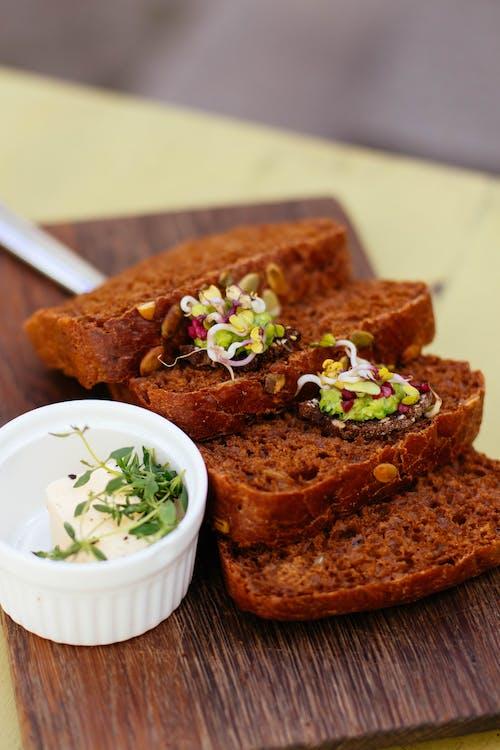 맛있는, 빵, 식도락가, 얇게 썬의 무료 스톡 사진