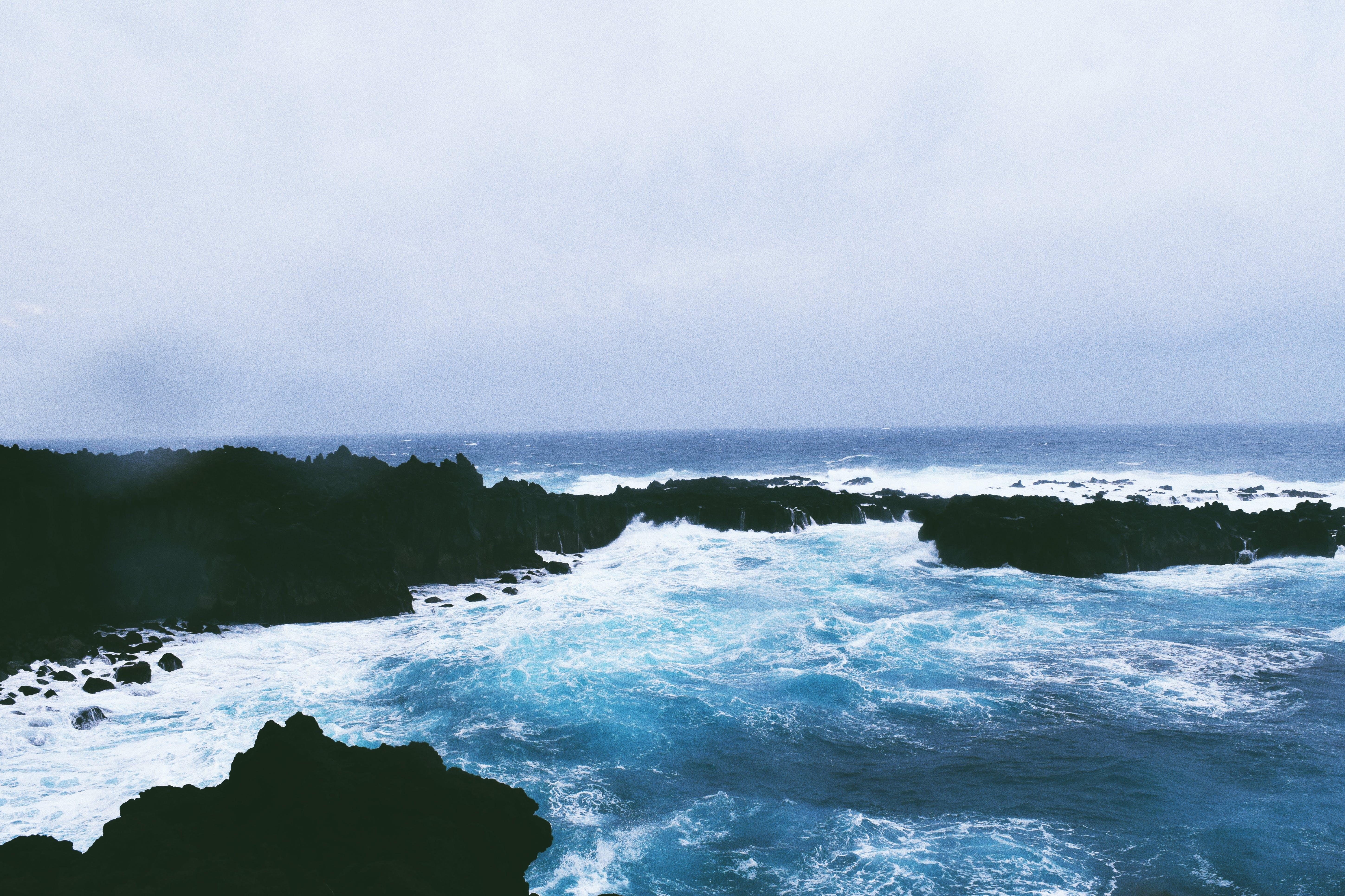 Azores, daylight, fog