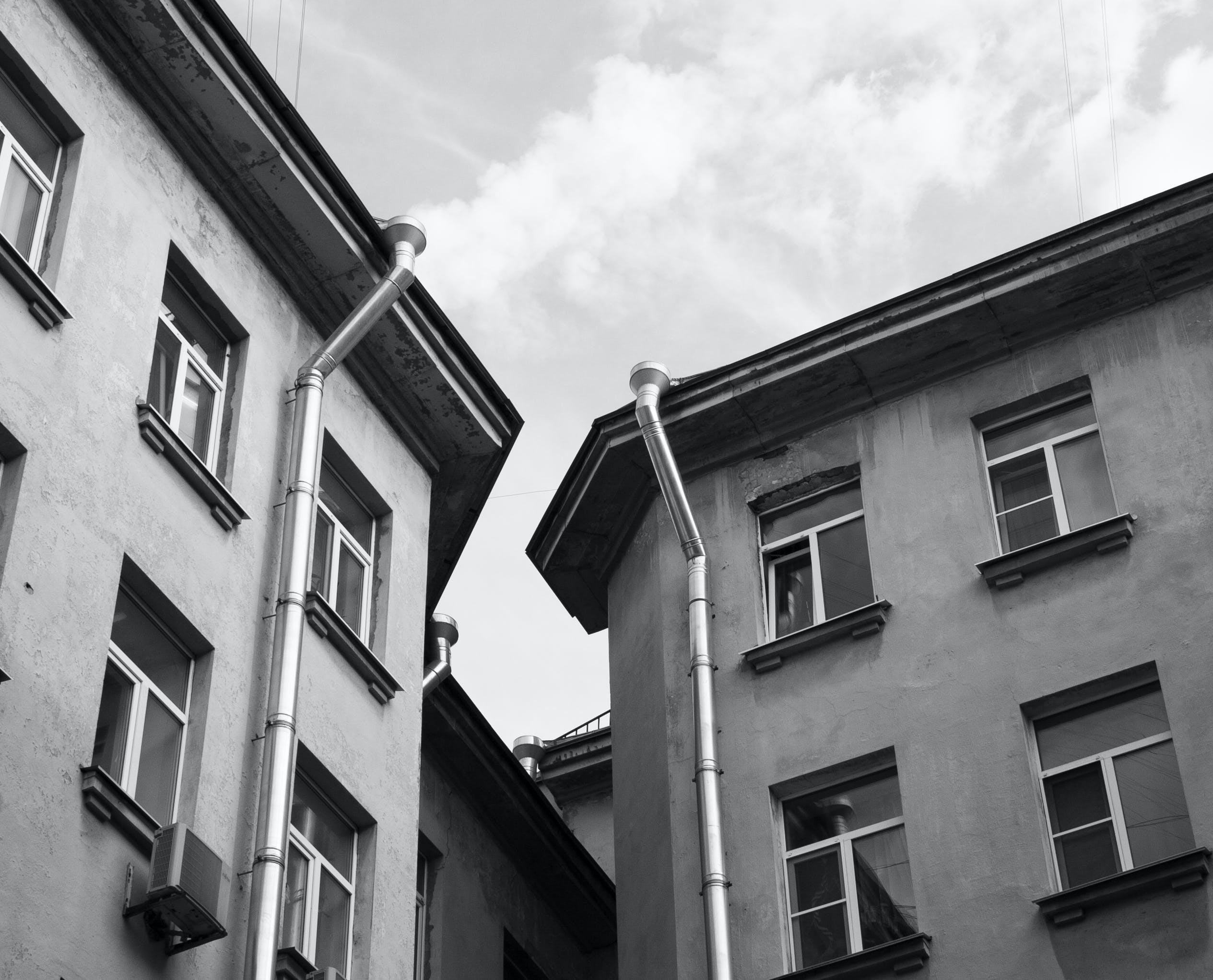 Free stock photo of #architecture, #blackwhite, #city, #черно_белое
