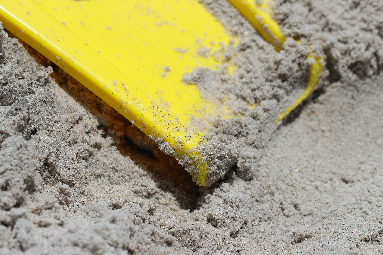 beach, macro, sand