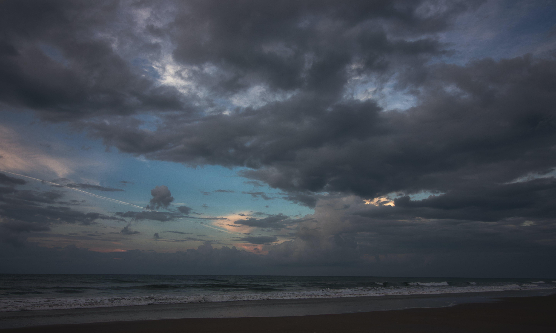 Free stock photo of beach, cloudy, ocean, storm
