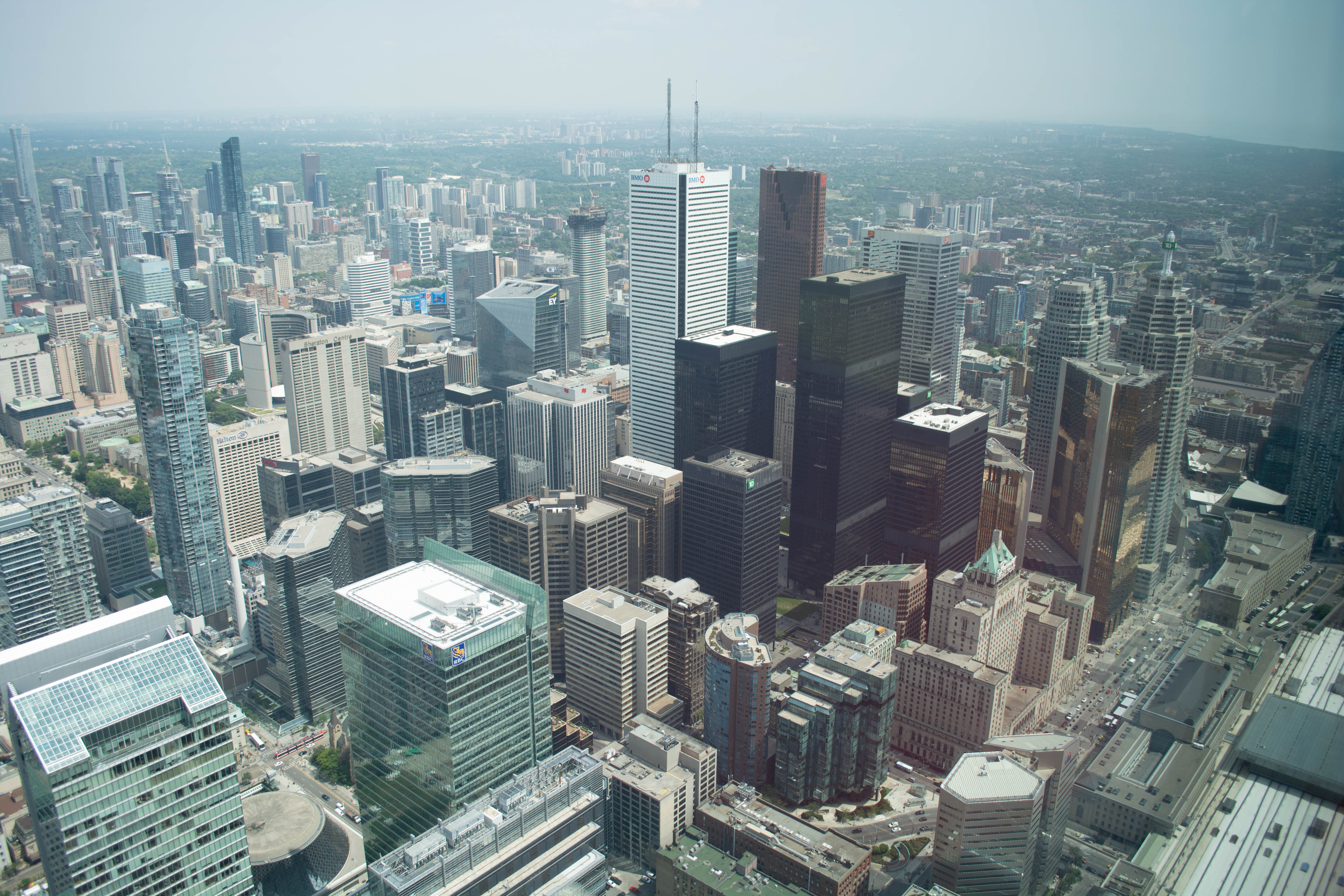 aerial view, architecture, buildings