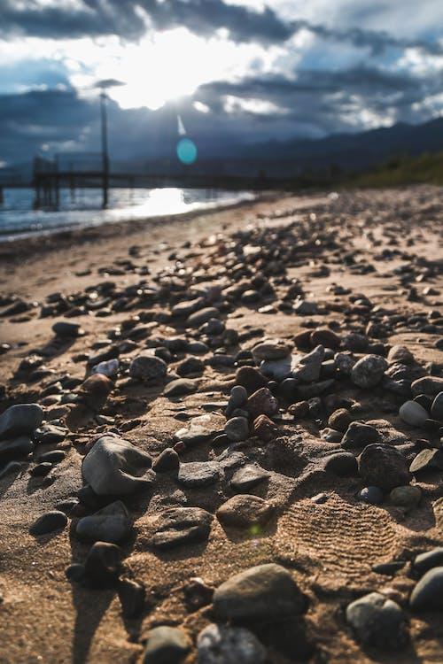 Foto profissional grátis de areia, ater, e, leve