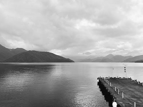 Foto d'estoc gratuïta de blanc i negre, natura, nikko, paisatge
