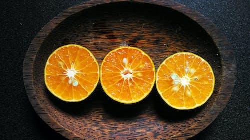 Free stock photo of fruit, orange, slice