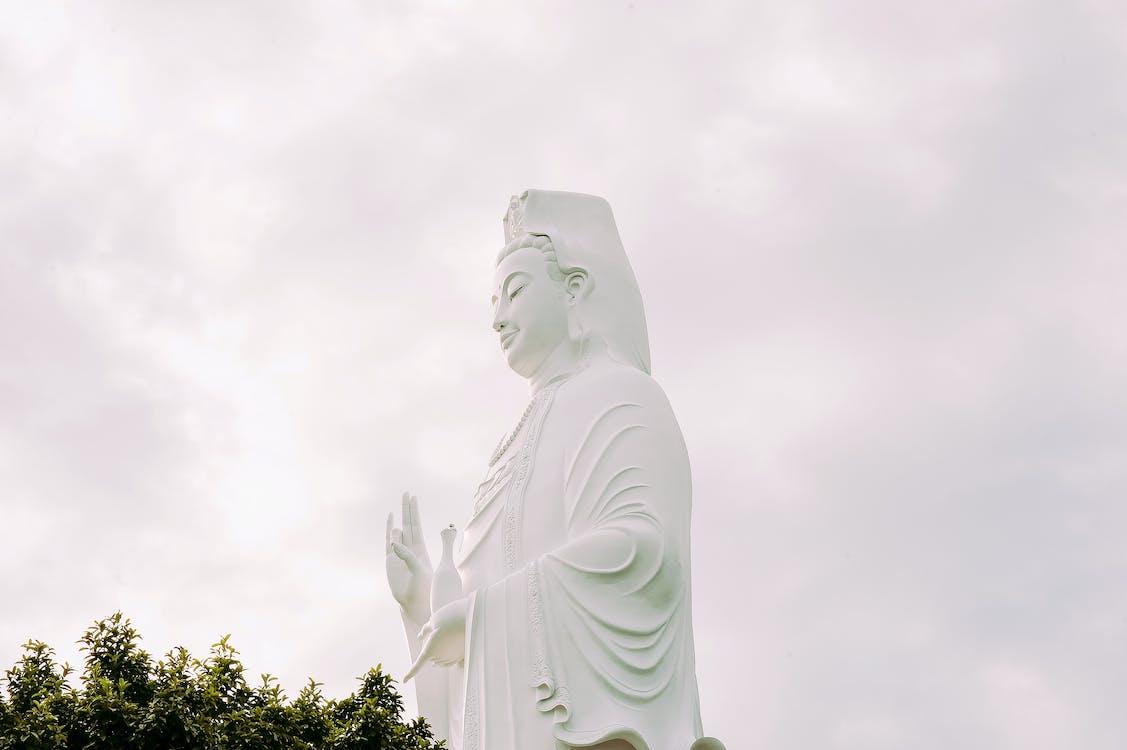alacsony szögű fényképezés, Buddha, buddhizmus