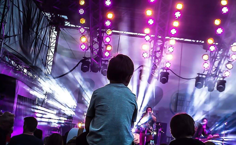 Liveshow, musik, musikfestival