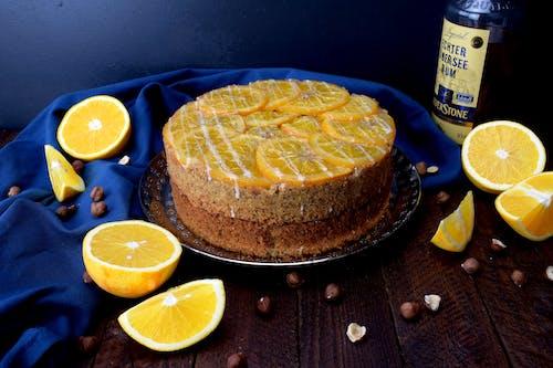 Ingyenes stockfotó gyümölcslepény, muffin, narancs, sütés témában