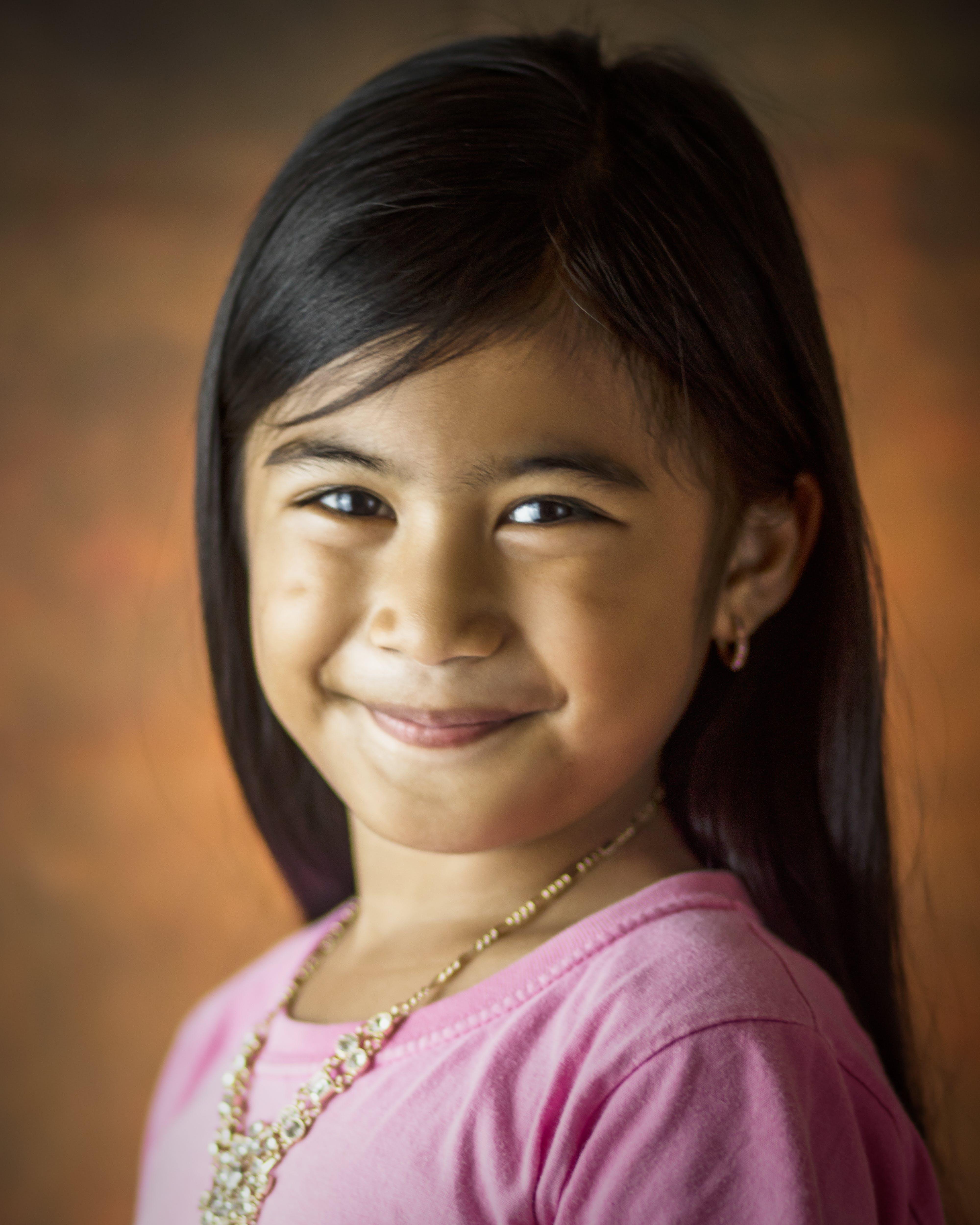 azjatyckie dziecko, biżuteria, dorastający