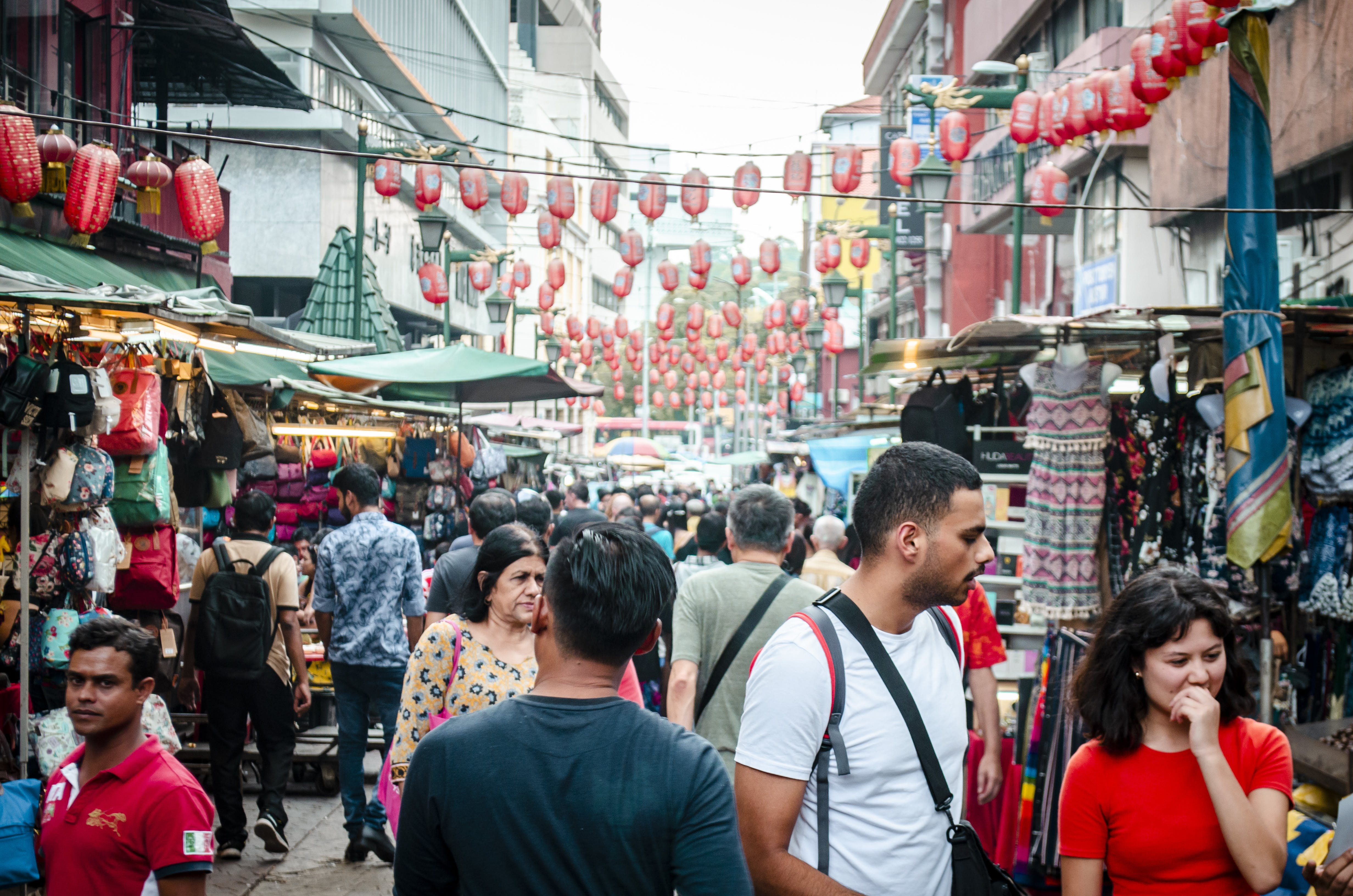 Free stock photo of chinatown, petaling street, street, street photography