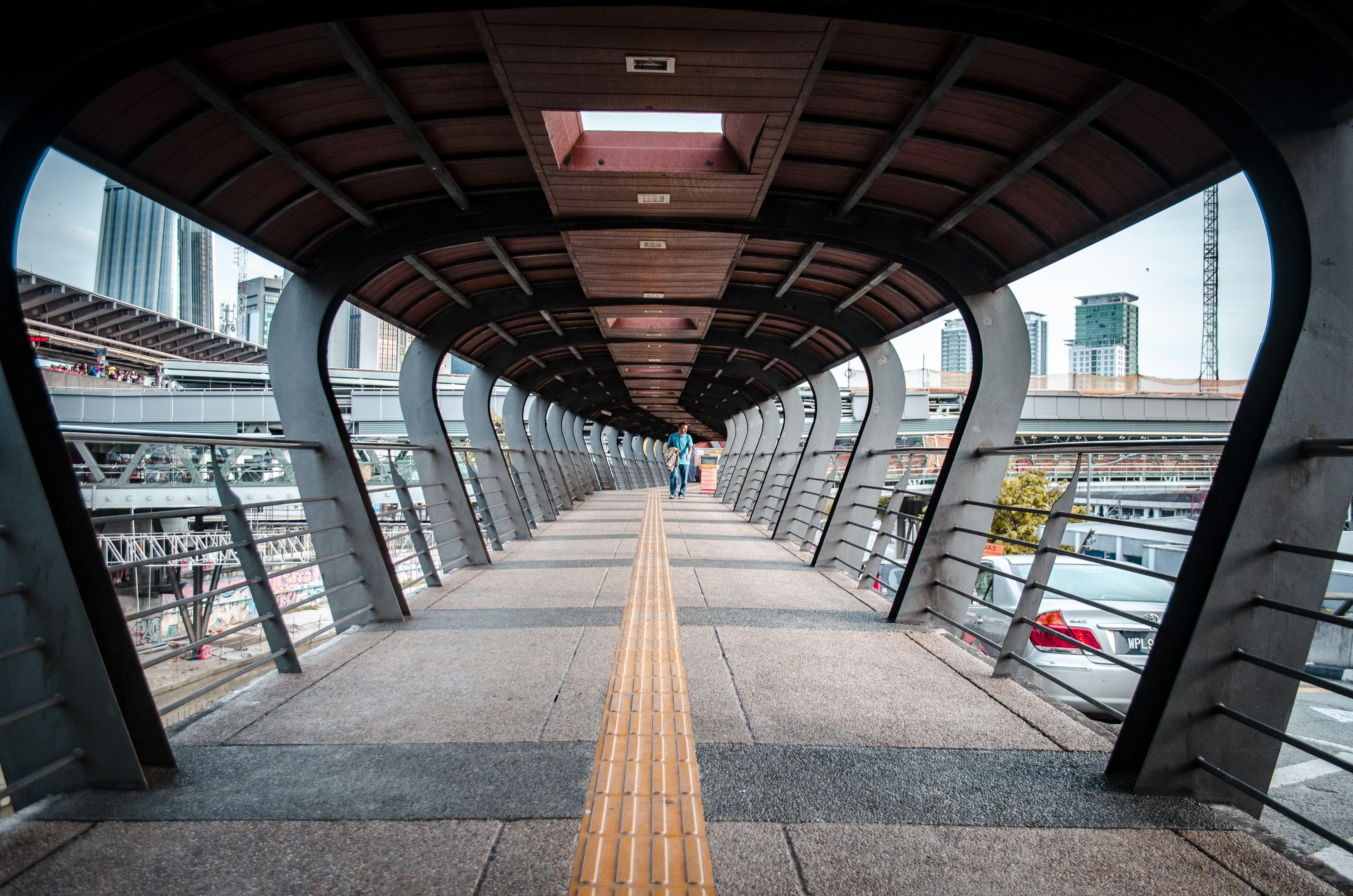 Free stock photo of bridge, Leading line, pattern, shape
