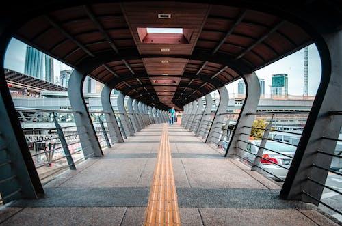 Free stock photo of bridge, leading line, pattern