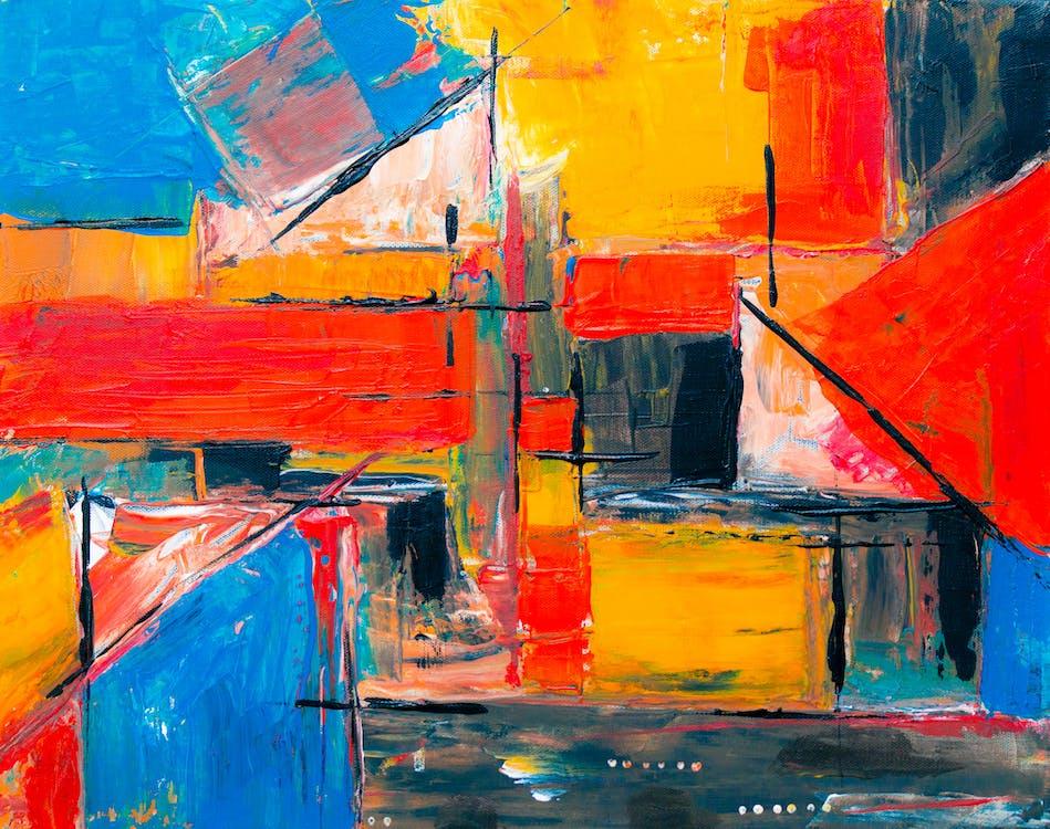 acrílic, aquarel·la, art