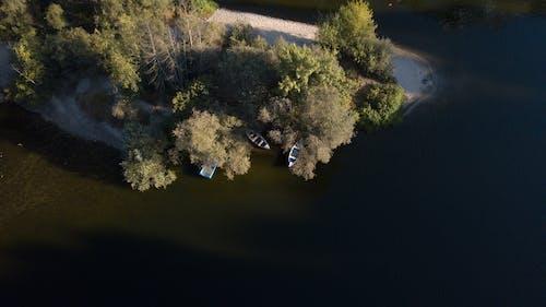 Ingyenes stockfotó drón, hajóm csónak, természet, víz témában