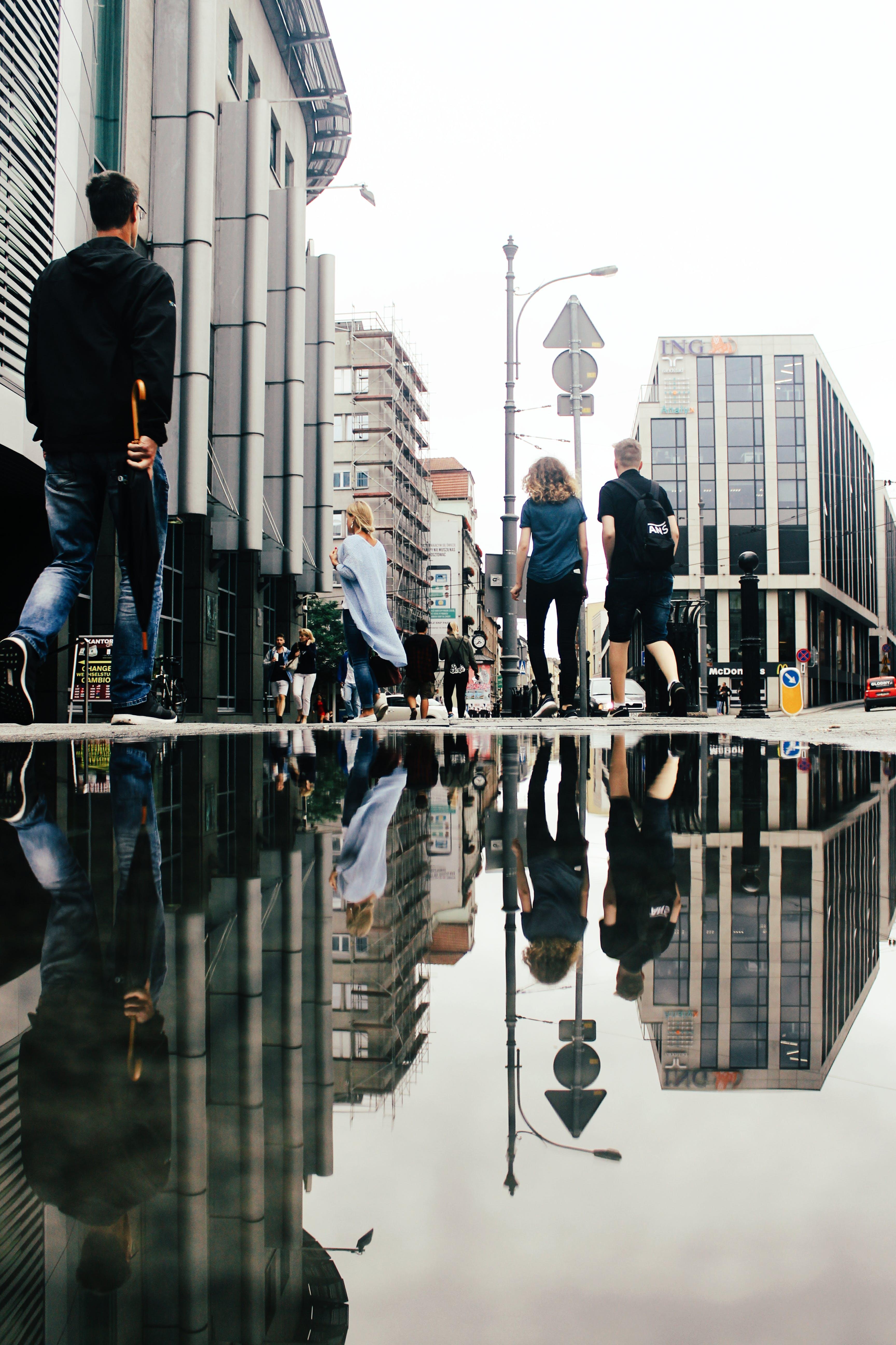 Foto stok gratis air, Arsitektur, bangunan, bayangan