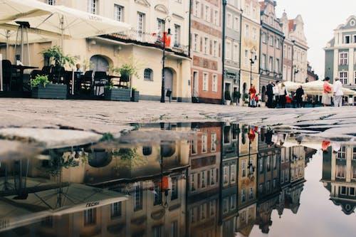 Безкоштовне стокове фото на тему «архітектура, будівлі, Будинки, відображення»