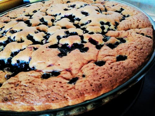 Free stock photo of blueberries, delicious, homemade, pie