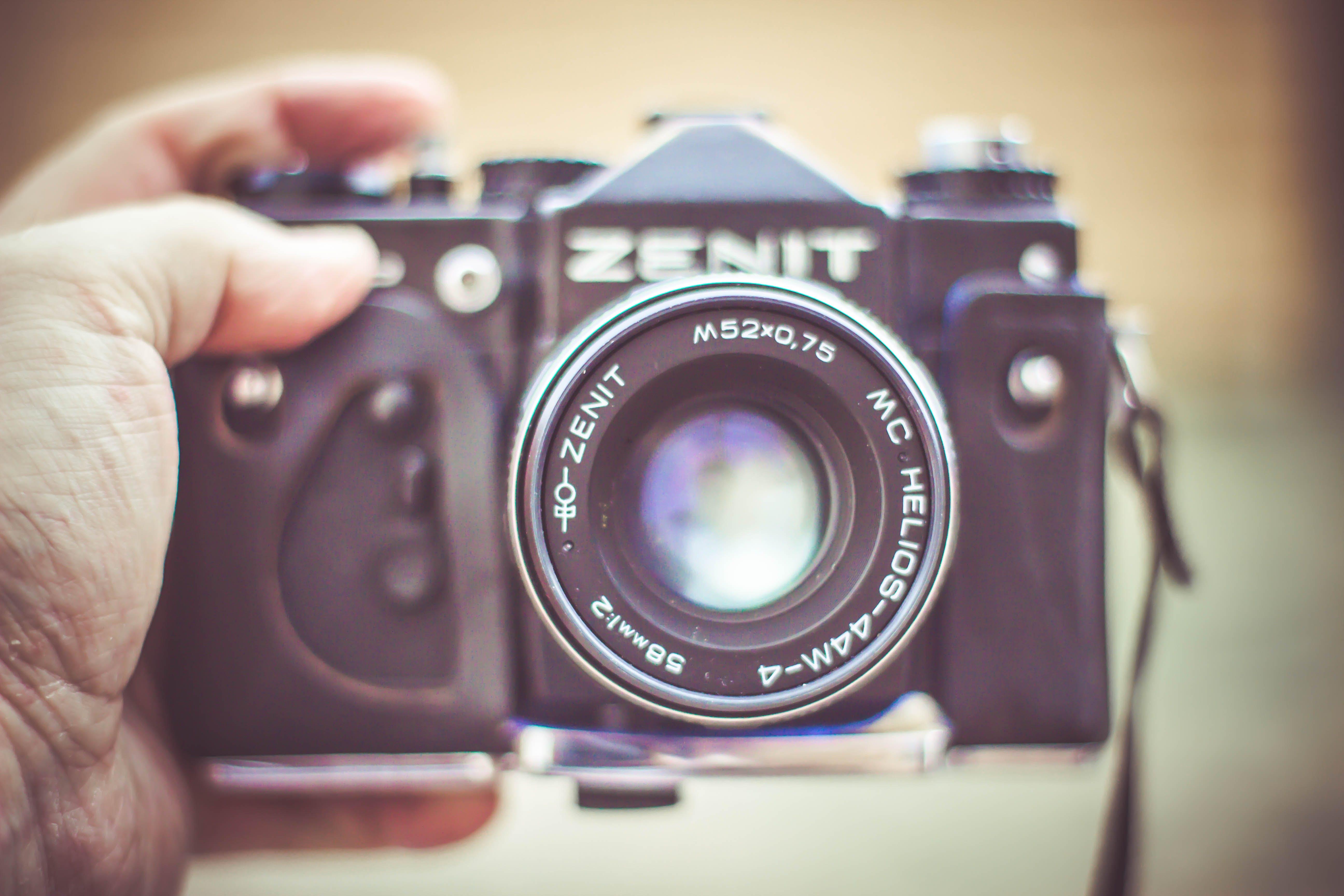 Free stock photo of camera, oldschool, retro, selfie