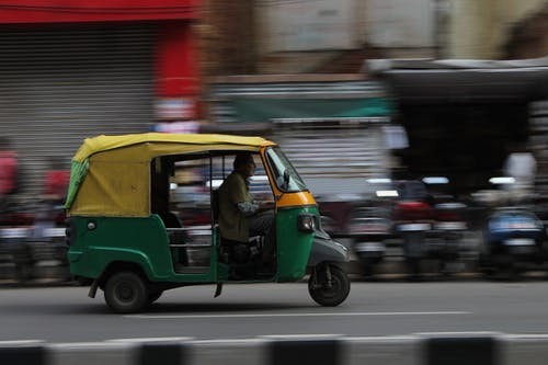 Free stock photo of auto, high speed, india, rickshaw