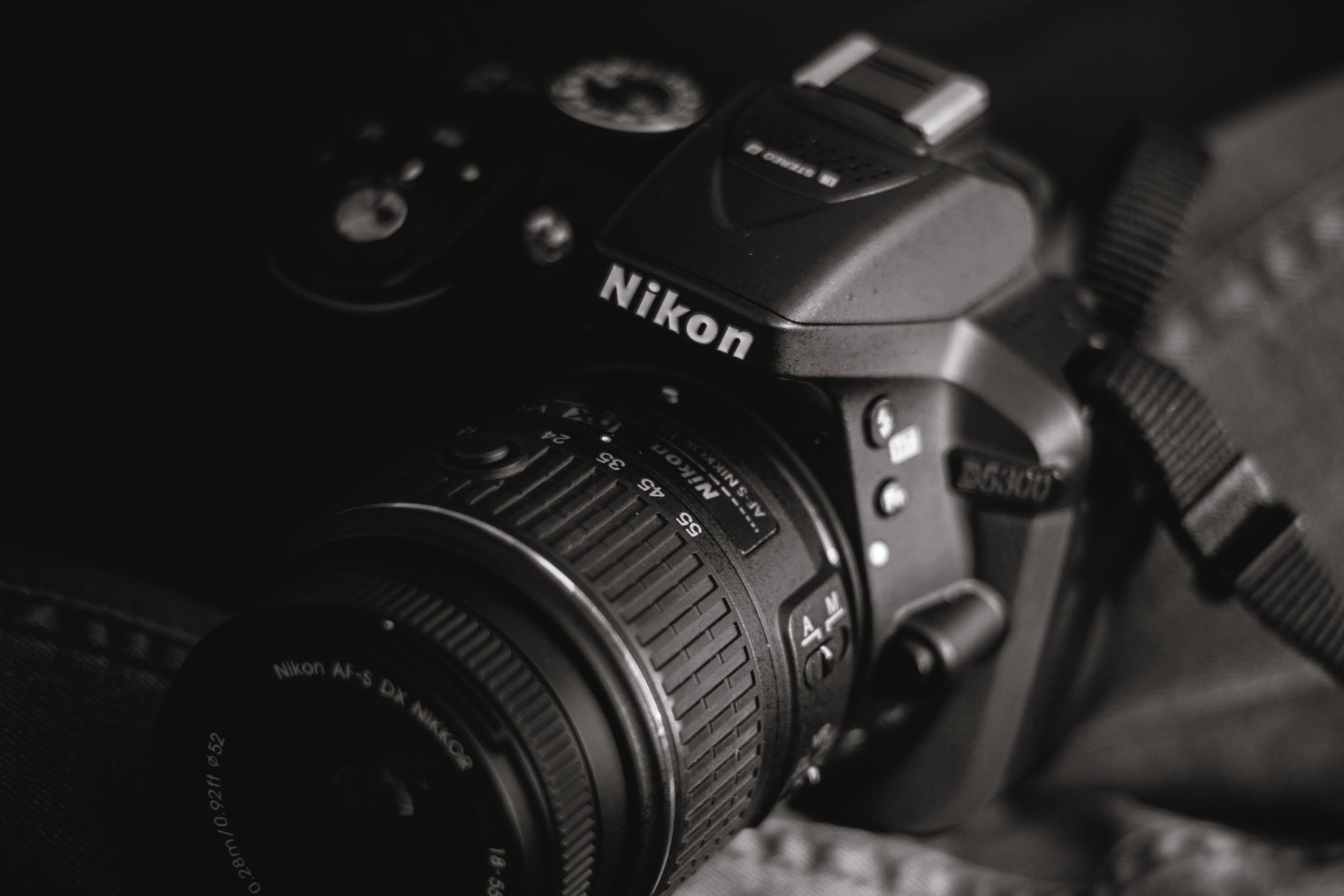 Nikon D5300 in Grayscale Photography