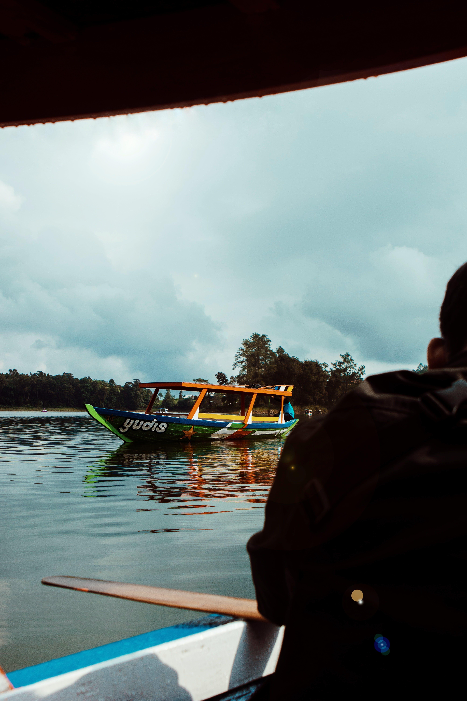 Free stock photo of boat, lake