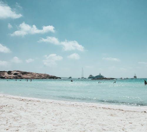 Free stock photo of beautiful, blue sky, boat, chill