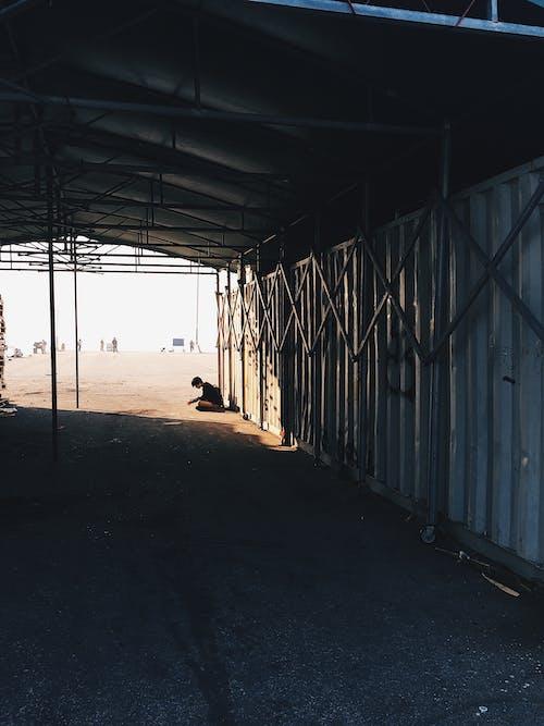 Základová fotografie zdarma na téma asiat, brána, garáž, molo
