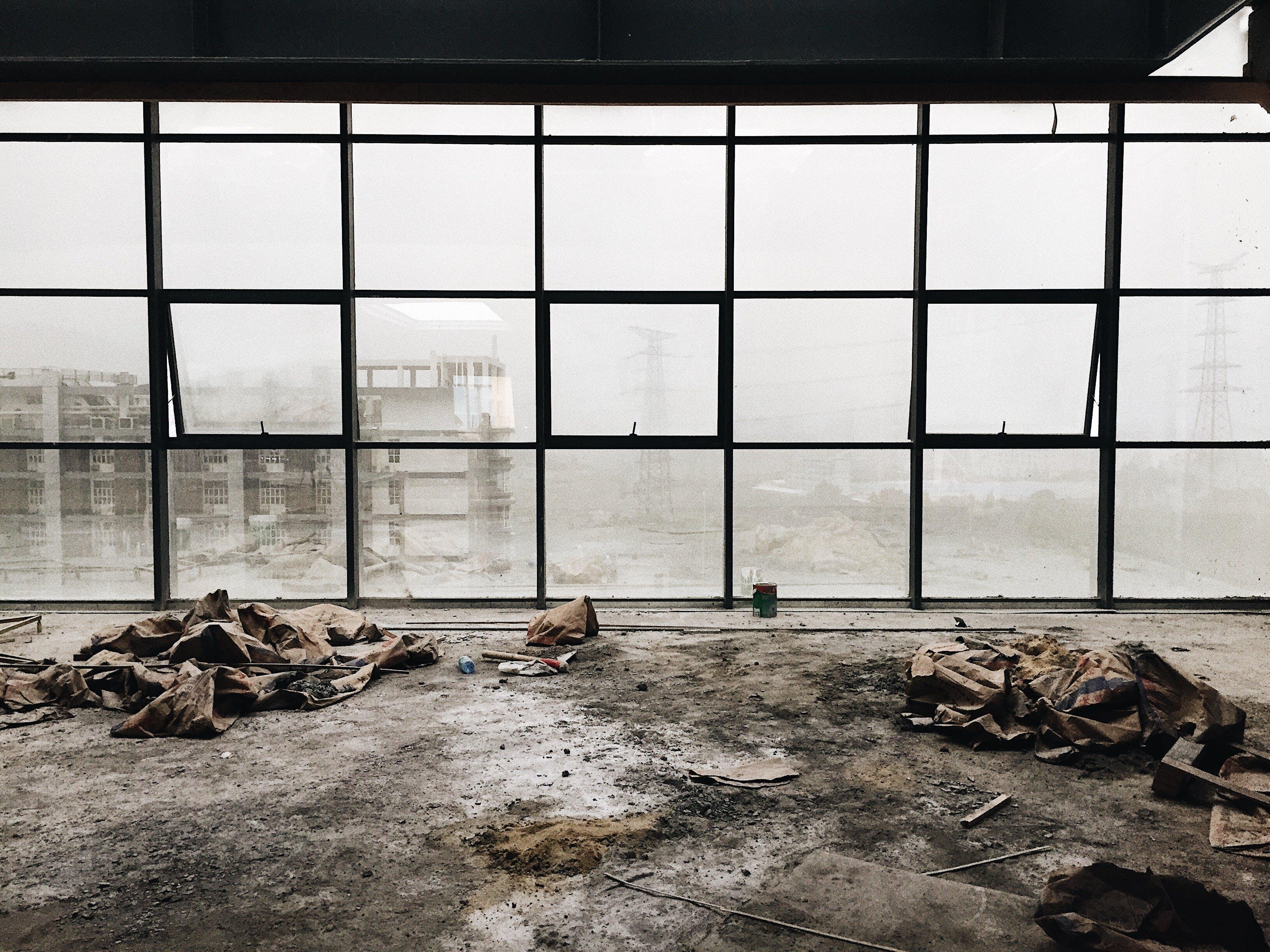 Free stock photo of construction, dust, smog, work