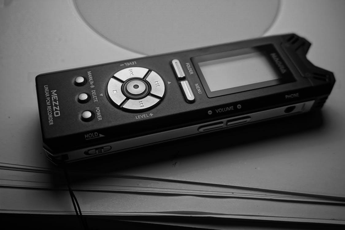Бесплатное стоковое фото с меццо-сопрано, награ, цифровой рекордер