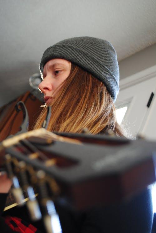 Free stock photo of angle, beanie