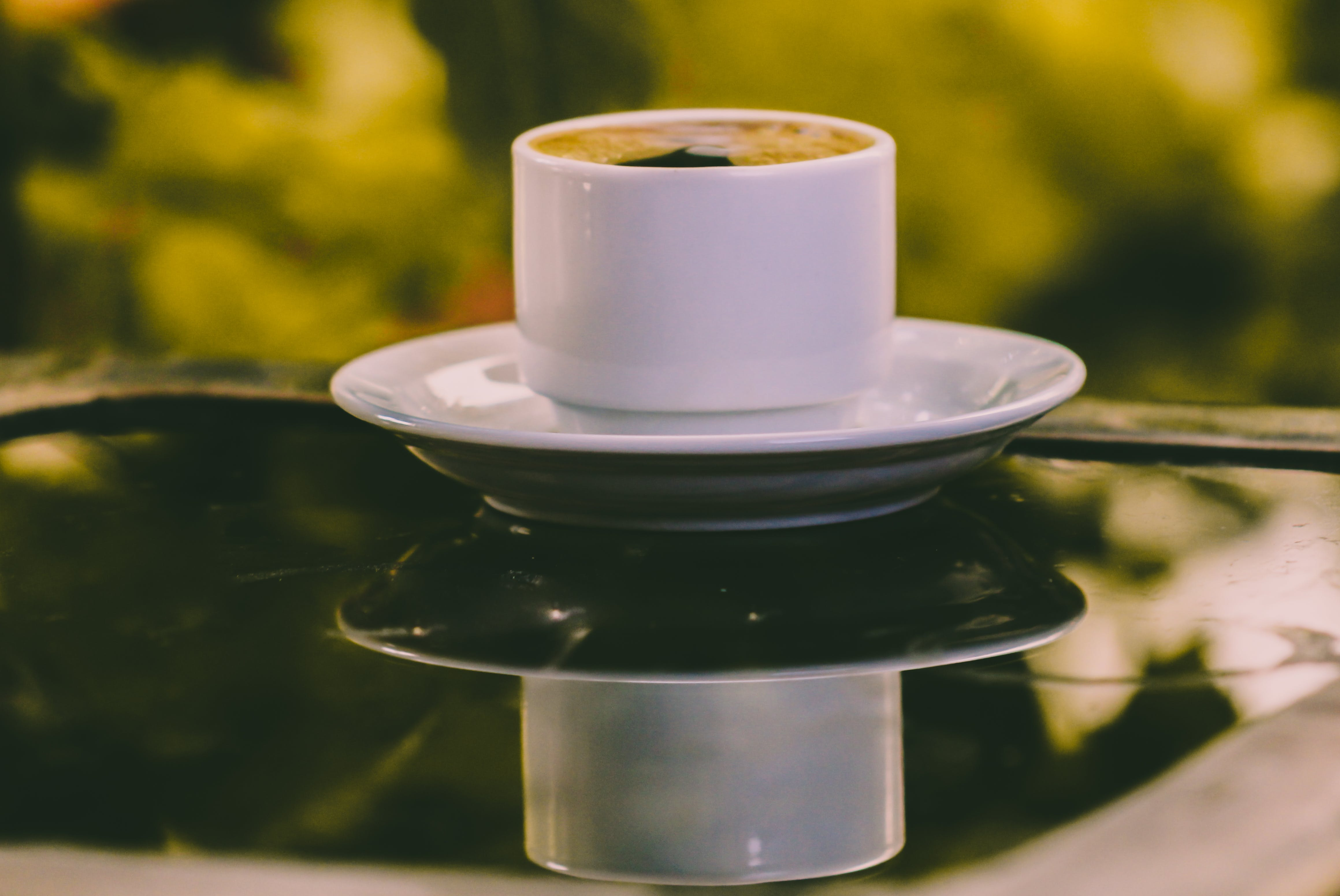 Close-Up Photography of Coffee Cup