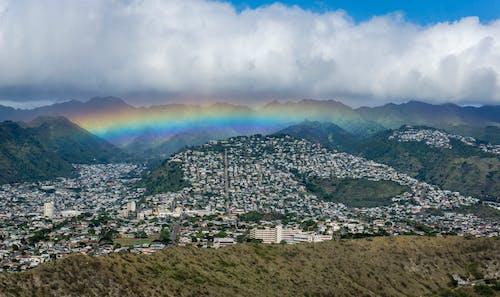 Fotobanka sbezplatnými fotkami na tému dúha, epos, Havaj, honolulu