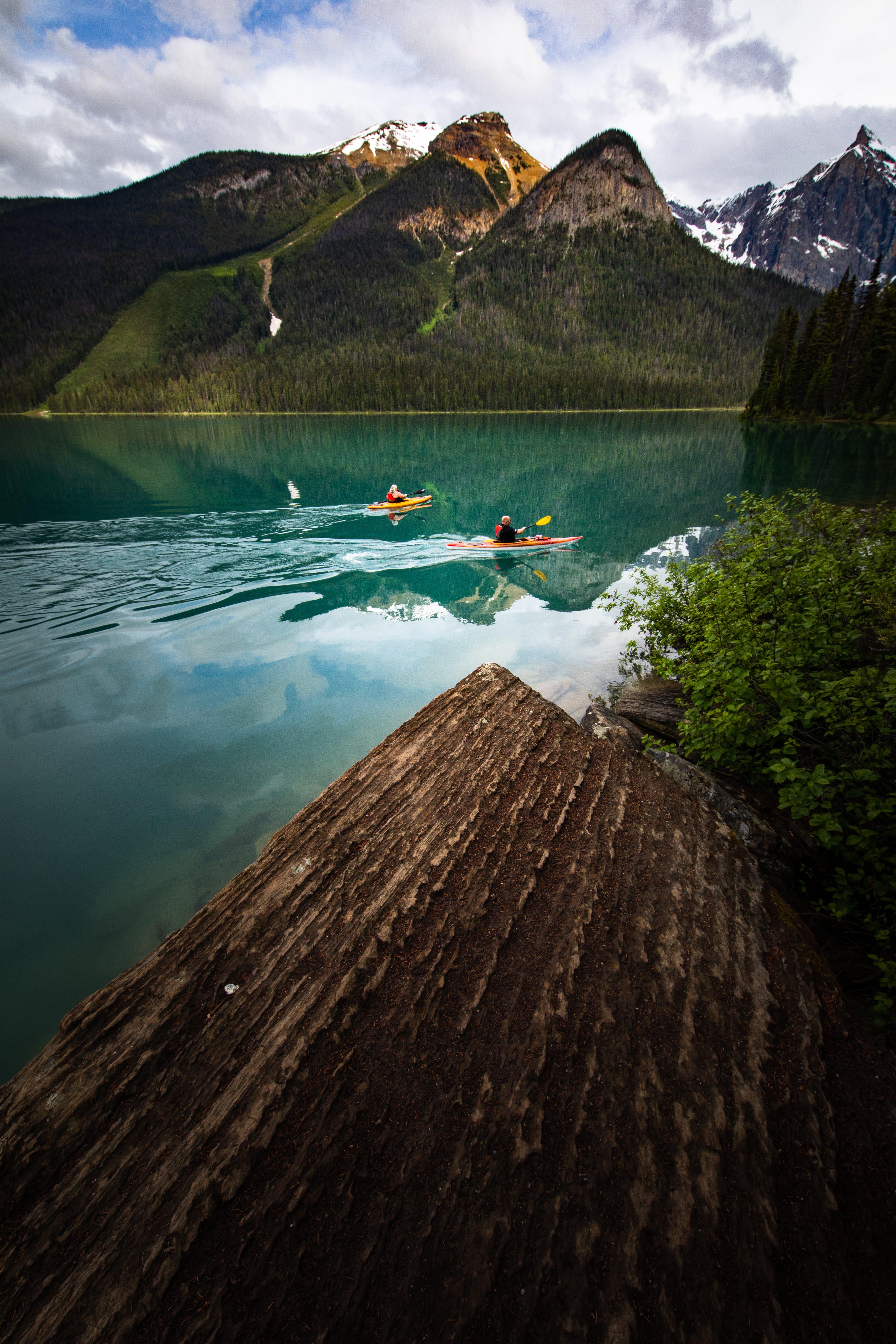 Group of People on Kayak
