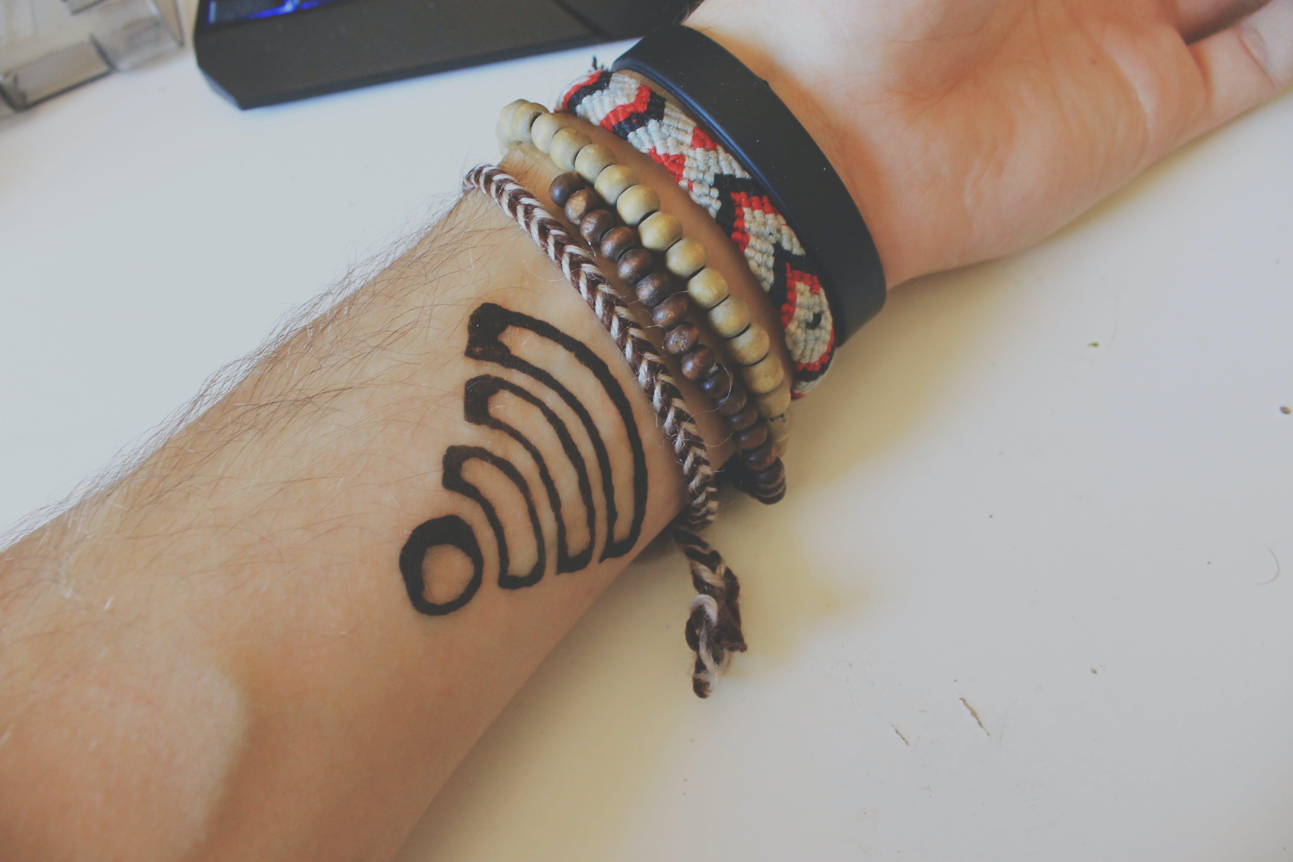 Free stock photo of arm, hand, internet, tattoo