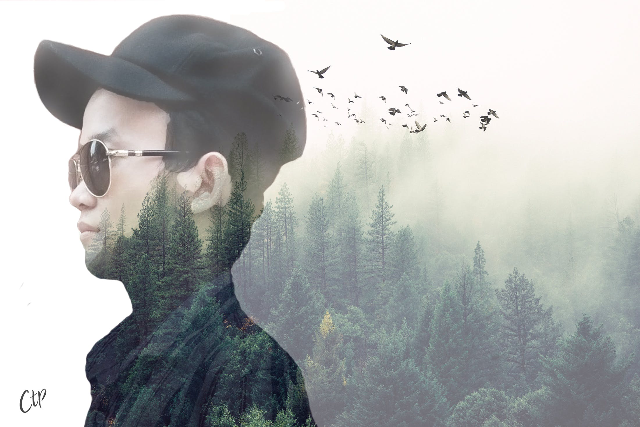 Free stock photo of chauthongphan double exposure