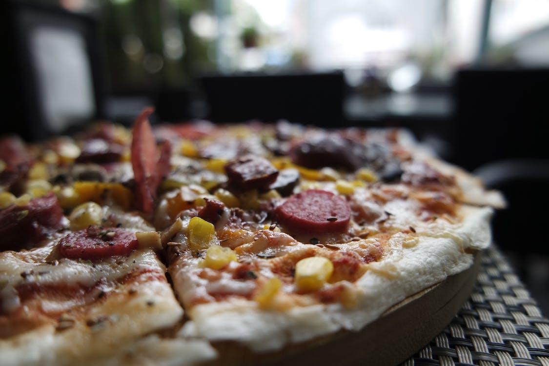 Closeup Photography of Pizza