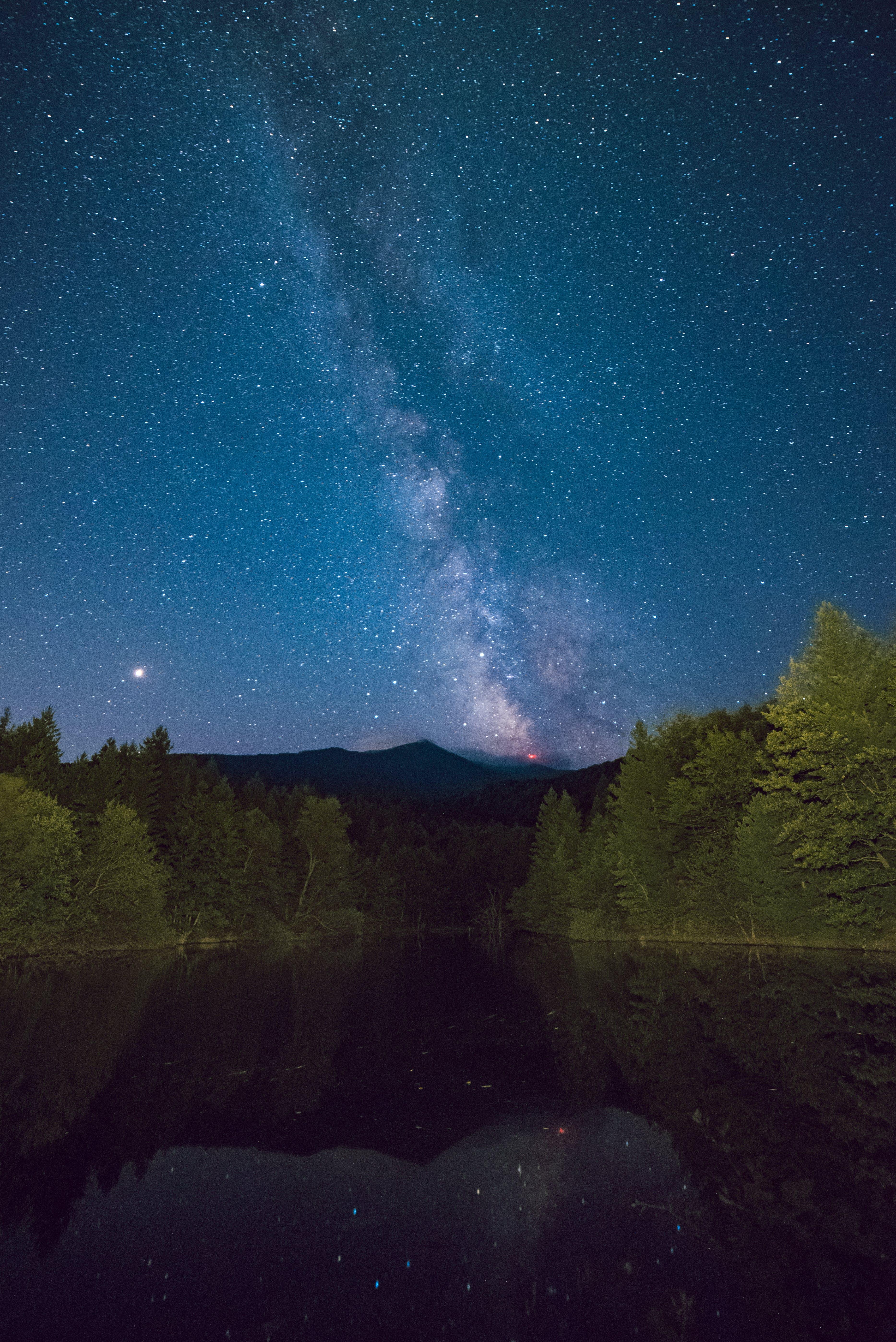Kostenloses Stock Foto zu galaxie, milchstraße, sterne, langzeitbelichtung