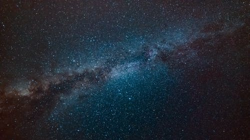 Milky Way Galaxy during Nighttime