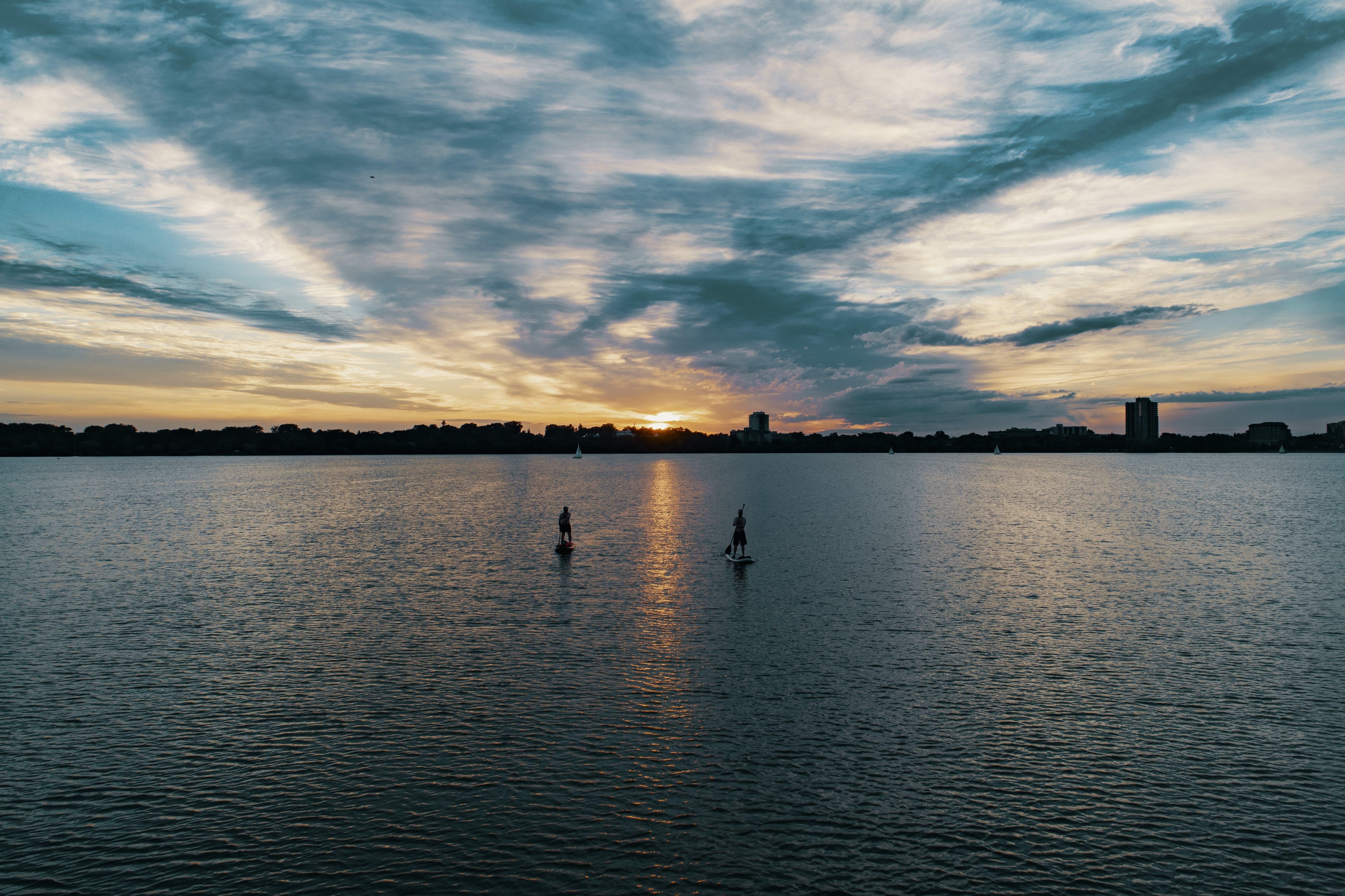 경치, 구름, 물, 바다의 무료 스톡 사진